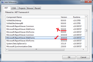 Report Viewer Parameters in Visual Studio 2010 – No Code