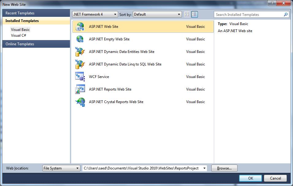 Report Viewer Parameters in Visual Studio 2010 – No Code